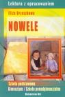Nowele Orzeszkowa lektura z opracowaniem