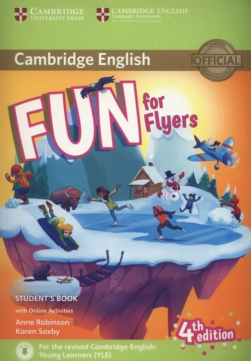 Fun for Flyers Student's Book + Online Activities Robinson Anne, Saxby Karen