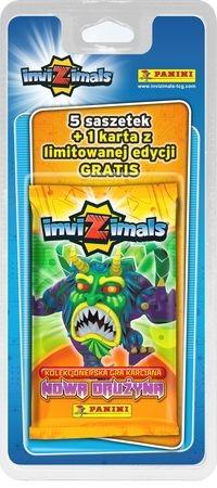 Blister z kartami InviZimals Nowa drużyna (07389)