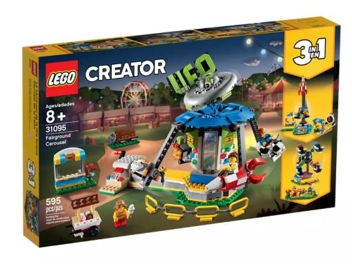 Lego Creator: Karuzela w wesołym miasteczku (31095) (Uszkodzone opakowanie)