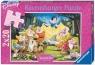 Puzzle 2x24 Królewna Śnieżka i krasnoludki (088898)