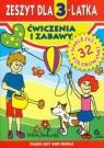 Zeszyt dla 3-latka Ćwiczenia i zabawy
