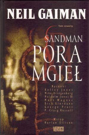 Sandman Pora mgieł Tom 4 Gaiman Neil