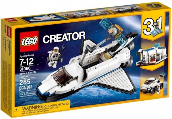 Lego Creator: Odkrywca z promu kosmicznego (31066)