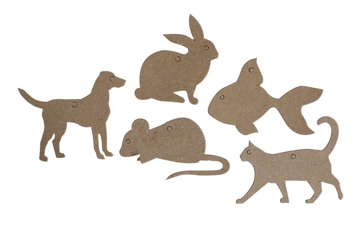 Kształty tekturowe Pets (448852)