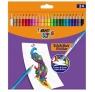 Kredki ołówkowe Kids Evolution Illusion, 24 kolory