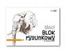 Blok rysunkowy A3/20k 90g biały (SPA015)