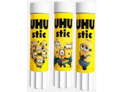 Klej UHU sztyft 21g Minionki UHU