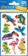 Naklejki brokatowe - Ptaki