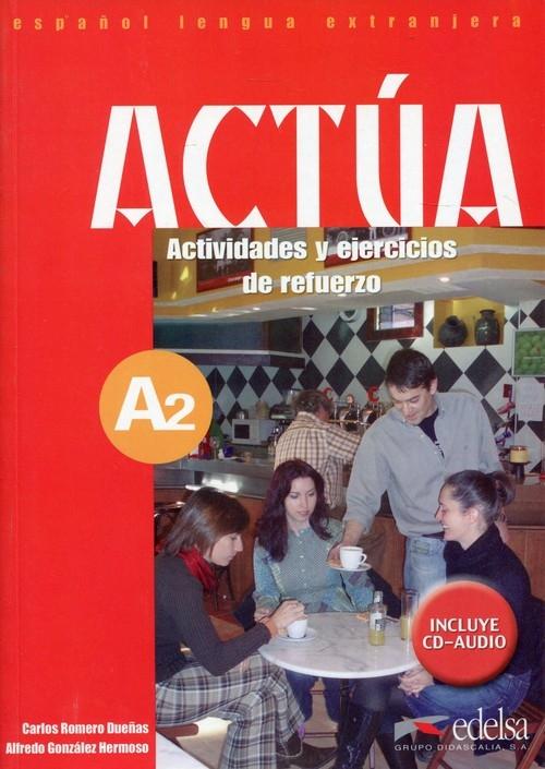Actua A2 Podręcznik z ćwiczeniami + CD