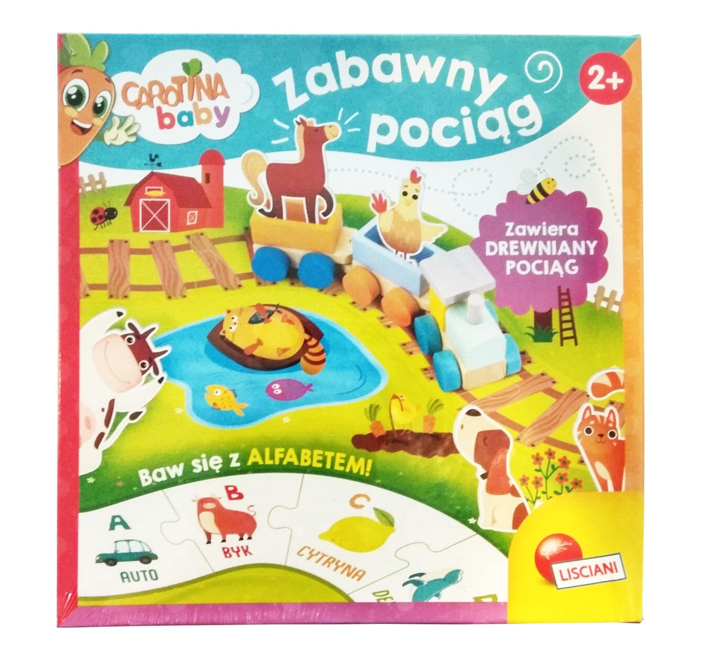 Carotina Baby - Zabawny pociąg (PL84005)