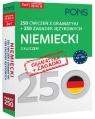 250 ćwiczeń z gramatyki Niemiecki +250 zagadek