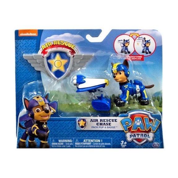 Psi Patrol Powietrzny Figurka z odznaką Chase (6027031/20071465)