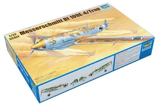 Model plastikowy Messerschmitt Bf 109E-4/Trop (02290)