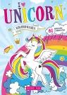 Kolorowanka Unicorn z naklejkami