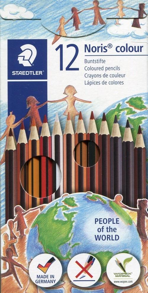 Kredki Noris colour sześciokątne 12 kolorów