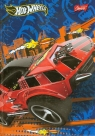 Brulion A6 Hot Wheels w kratkę 96 kartek niebieski