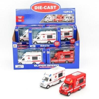 Auto matal straż/ambulans