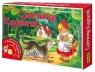 Czerwony Kapturek Gra planszowa z płytą CD  (5901) Wiek: 4+
