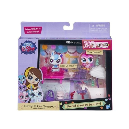Littlest Pet Shop Bar z lodami