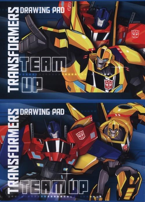 Blok rysunkowy A4 Transformers 20 kartek 10 sztuk mix