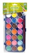 Farby akwarelowe - 21 kolorów CRICCO