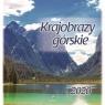 Kalendarz 2020 ścienny kwadrat Krajobrazy Górskie