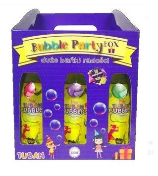 Tuban Zestaw Big Party - bańki mydlane (TU 3649)
