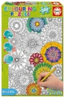 300 ELEMENTÓW Kwiaty Puzzle do kolorowania (17090)