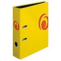 Segregator A4 8cm Fresh Col. żółty max file