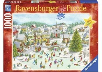 Puzzle 1000 elementów Świąteczny dzień (152902)