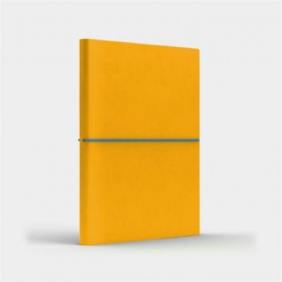 Notatnik B6 Fun S linia żółty/niebieski