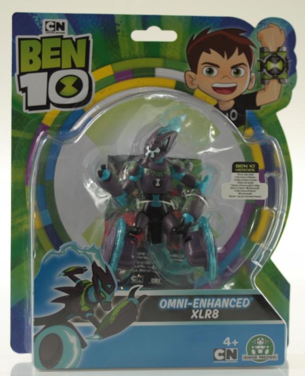 Ben 10: Figurka podstawowa 13 cm seria 7 - Omniwzmocniony Szybcior (BEN39610)