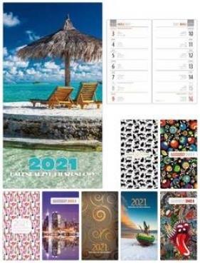 Kalendarz 2021 Kieszonkowy duży (Uszkodzona okładka)