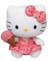 Maskotka Beanie Babies Ice Cream Hello Kitty, 15 cm (TY 42090)