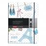 Notatnik PP my.book Flex A4/2x40k linia i kratka - Paris (11415494)