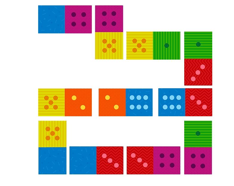 Domino klasyczne - 28 elementów (DOG300225)