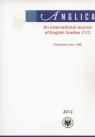 Anglica An International Journal of English Studies 21/2 2012