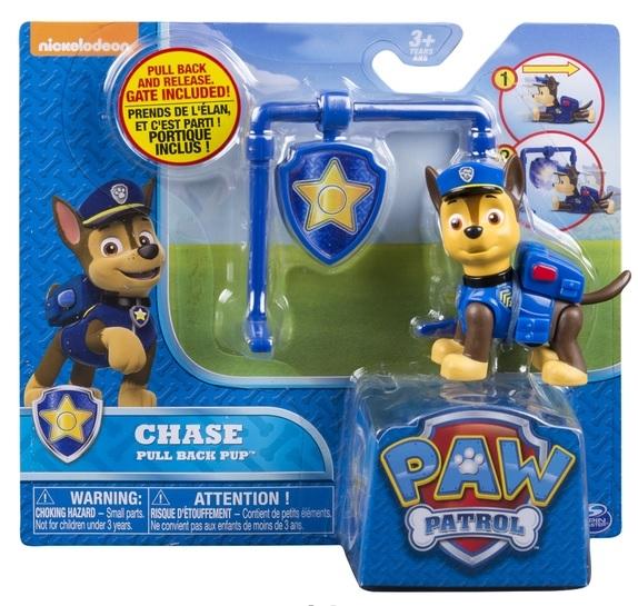 Psi Patrol, figurka z odznaką Chase (6022626)