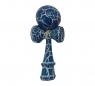 Kendama. Drewniana zabawka zręcznościowa - niebiesko-biały (NO-1004003)