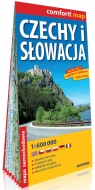 Czechy i Słowacja laminowana mapa samochodowa 1:160 000