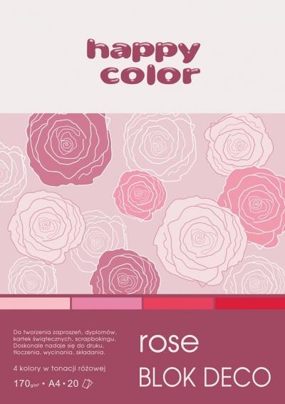 Blok Deco Rose A4/20 (HA 3717 2030-062)