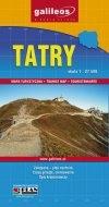 Tatry. Mapa turystyczna praca zbiorowa