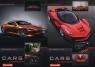 Zeszyt A5 w kratkę 60 kartek Dream Cars 10 sztuk mix