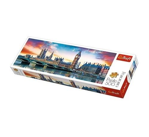 Puzzle 500 Panorama Big Ben i