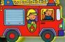 Wóz strażacki wykrojnik