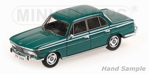 BMW 2000A 1962 (green)