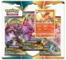 Pokemon TCG: Darkness Ablaze - 3-pack Flareon (80716)Wiek: 6+