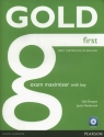 Gold First Exam Maximiser with key + CD