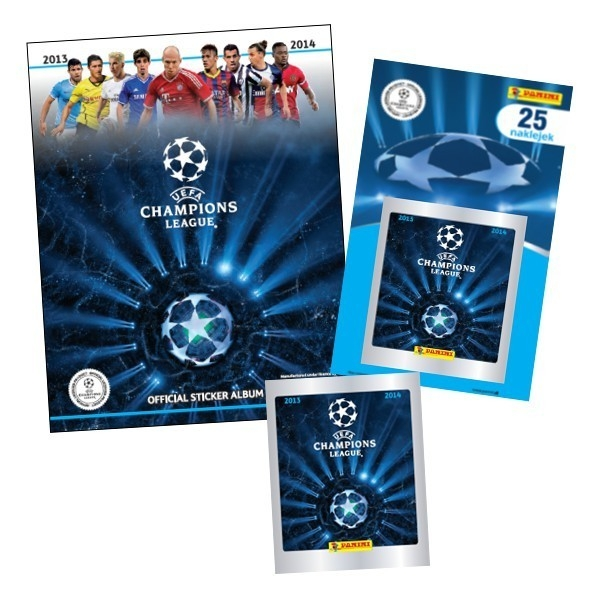 PANINI UEFA Champions Le ague Album-nakl.